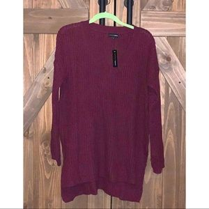 High-low tunic sweater NWT